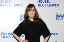 "Jennifer Jason Leigh attends the after party for the Broadway opening night of ""The House of Blue Leaves"" at Sardi's on April 25, 2011 in New York City."