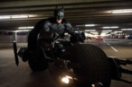 "CHRISTIAN BALE as Batman in Warner Bros. Pictures' and Legendary Pictures' action thriller ""THE DARK KNIGHT RISES,"" a Warner Bros. Pictures release. TM & © DC Comics."