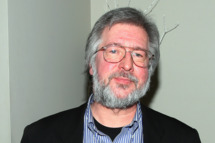 "Writer Tom Davis attends his ""Thirty-Nine Years of Short Term Memory Loss: The Early Days of SNL from Someone Who Was There"" book release party at Comix on March 3, 2009 in New York City."