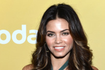 Actress Jenna Dewan arrives at the 2012 Women In Film Crystal + Lucy Awards held at The Beverly Hilton Hotel on June 12, 2012 in Beverly Hills, California.