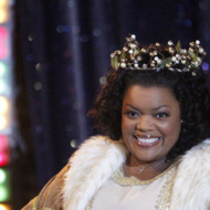 "COMMUNITY -- ""Regional Holiday Music"" Episode 311 -- Pictured: Yvette Nicole Brown as Shirley -- Photo by: Jordin Althaus/NBC"