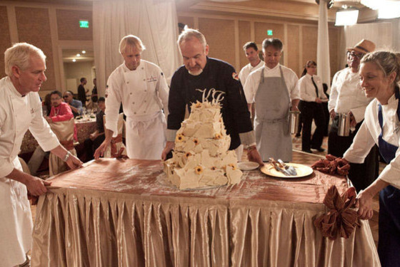 Would you want that served at your wedding?
