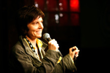 Comedian Tig Notaro onstage at the 2011 SXSW Music, Film + Interactive Festival Comedy Showcase: The Benson Interruption at Esther's Follies