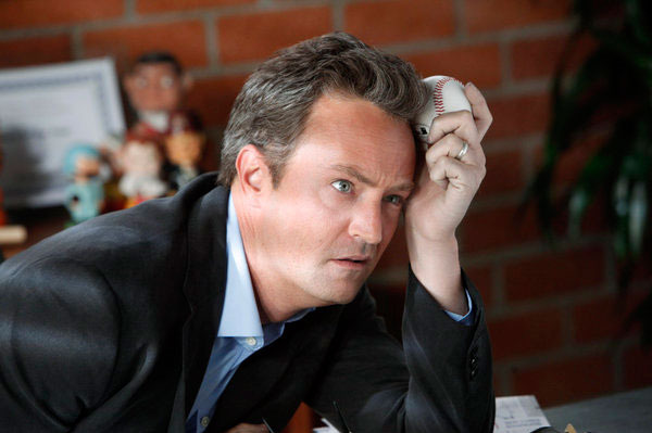 "GO ON -- ""Pilot"" -- Pictured: Matthew Perry as Ryan King."