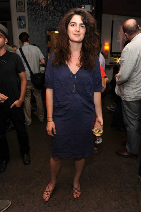 "Actress Gaby Hoffmann attends the ""Life After Wartime"" premiere after party at Scuderia on July 7, 2010 in New York City."
