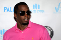 "Recording artist Sean ""Diddy"" Combs arrives at a pool party at the Palms Casino Resort September 4, 2011 in Las Vegas, Nevada."