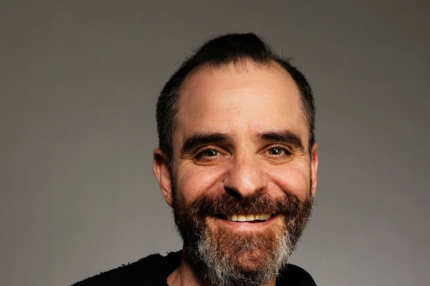 "Actor David Rakoff from the film ""The New Tenants"" attends the Tribeca Film Festival 2010 portrait studio at the FilmMaker Industry Press Center on April 27, 2010 in New York, New York."