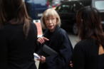 NEW YORK - SEPTEMBER 10:  Author Joan Didion attends the funeral of Dominick Dunne at The Church of St. Vincent Ferrer on September 10, 2009 in New York City.  Author Dominick Dunne was 83 when he passed away at his home on August 26, 2009.  (Photo by Rick Gershon/Getty Images) *** Local Caption *** Joan Didion