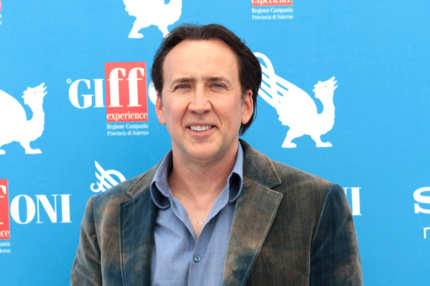 Actor Nicolas Cage attends 2012 Giffoni Film Festival photocall on July 18, 2012 in Giffoni Valle Piana, Italy.