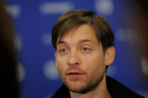 "Actor Tobey Maguire attends ""The Details"" Premiere at Eccles Center Theatre during the 2011 Sundance Film Festival on January 24, 2011 in Park City, Utah."