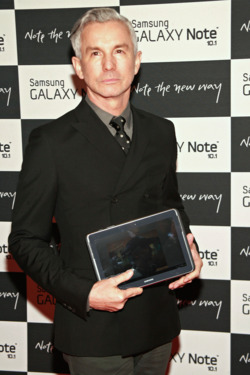 "Baz Luhrmann== Samsung ""Meet The New Way"" Launch Party, Arrivals== Jazz at Lincoln Center's Frederick P. Rose Hall, NYC== August 15, 2012== ©PatrickMcmullan.com== photo-Sylvain Gaboury/PatrickMcmullan.com== =="