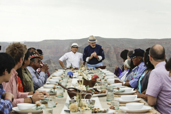 """""""The canyon air imbues our dishes with love and magic!"""""""