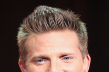 Actor Steve Burton speaks onstage at the 'General Hospital' panel during day 6 of the Disney ABCTelevision Group portion of the 2012 Summer TCA Tour at The Beverly Hilton Hotel on July 26, 2012 in Beverly Hills, California.
