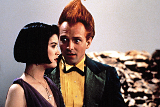 DROP DEAD FRED, Phoebe Cates, Rik Mayall, 1991.