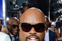 "Actor/recording artist Cee-Lo arrives at Tri-Star Pictures' ""Sparkle"" premiere at Grauman's Chinese Theatre on August 16, 2012 in Hollywood, California."