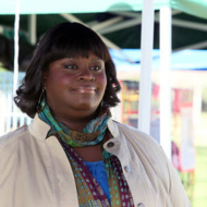 "PARKS AND RECREATION -- ""Live Ammo"" Episode 419 -- Pictured: Retta as Donna Meagle -- (Photo by: Danny Feld/NBC)"