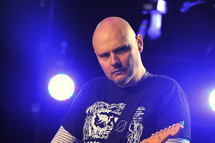 Billy Corgan and the Smashing Pumpkins perform onstage presented by P.C. Richard & Son at iHeartRadio Theater on June 19, 2012 in New York City.