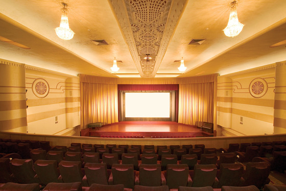 Vacant Movie Theater --- Image by © Peter M. Fisher/Corbis
