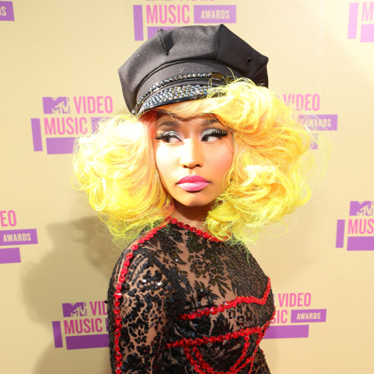 LOS ANGELES, CA - SEPTEMBER 06:  Rapper/singer Nicki Minaj arrives at the 2012 MTV Video Music Awards at Staples Center on September 6, 2012 in Los Angeles, California.  (Photo by Christopher Polk/Getty Images)