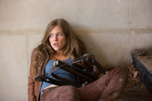 "REVOLUTION -- ""Pilot"" Episode 101 -- Pictured: Tracy Spiridakos as Charlie Matheson."