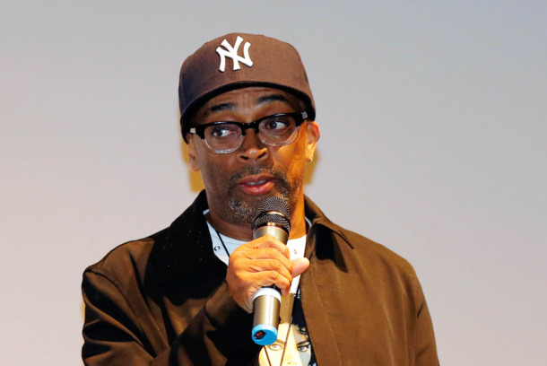 "TORONTO, ON - SEPTEMBER 15:  Director Spike Lee speaks at the ""Bad 25"" Premiere during the 2012 Toronto International Film Festival hel"