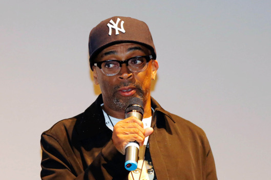 "Director Spike Lee speaks at the ""Bad 25"" Premiere during the 2012 Toronto International Film Festival held at the Ryerson Theatre on September 15, 2012 in Toronto, Canada."