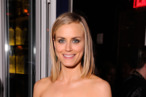 Actress Taylor Schilling attends the Cinema Society &amp; Men's Health screening of &quot;The Lucky One&quot;  after party at The Jimmy at the James Hotel on April 19, 2012 in New York City.