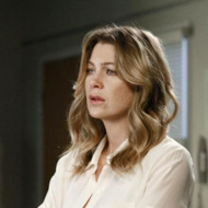 "GREY'S ANATOMY - ""She's Gone"" - In the second hour, ""She's Gone"" (10:00-11:00 p.m.), news of Meredith and Derek's unsteady relationship raises a red flag for Zola's adoption counselor; Alex quickly realizes that he has become the outcast of the group after ratting out Meredith; and Cristina makes a tough decision regarding her unexpected pregnancy. Also, Chief Webber brings Henry in for a last minute surgery, alarming Teddy. ""Grey's Anatomy"" returns for its eighth season with a two-hour event THURSDAY, SEPTEMBER 22 (9:00-11:00 p.m., ET) on the ABC Television Network. (ABC/RON TOM) ELLEN POMPEO"