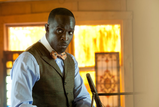 BOARDWALK EMPIRE episode 26 (season 3, episode 2): Michael Kenneth Williams.