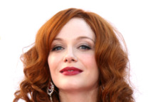 Christina Hendricks at the 64th Primetime Emmy Awards.
