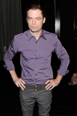 "Justin Kirk at the Cinema Society after party for ""BUTTER"", The Double Seven, NYC, September 27, 2012"