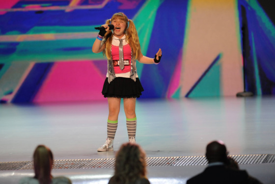 THE X FACTOR: Jordyn Foley performs in front of the judges on an all new epsiode of THE X FACTOR airing Thursday,