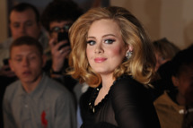 LONDON, ENGLAND - FEBRUARY 21: Adele attends The BRIT Awards 2012 at the O2 Arena on February 21, 2012 in London, England.  (Photo by Jon Furniss/WireImage)
