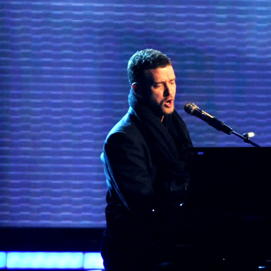 Singer Justin Timberlake performs during the 51st Annual Grammy Awards held at the Staples Center on February 8, 2009 in Los Angeles, California.