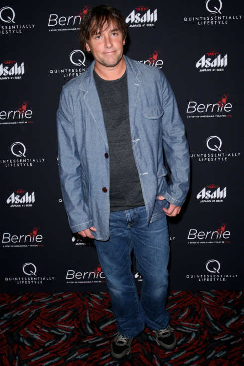 "Richard Linklater, at a special NYC Screening of ""BERNIE,"" 890 Broadway, NYC April 23th, 2012."