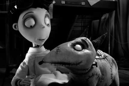 """FRANKENWEENIE""   (L-R) VICTOR and SPARKY. ..""Frankenweenie"" is a new stop-motion, animated comedy from the creative genius of director Tim Burton.  Presented by Walt Disney Pictures, ""Frankenweenie"" opens in theaters on October 5, 2012.  ..?2012 Disney Enterprises. All Rights Reserved."