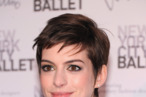 NEW YORK, NY - SEPTEMBER 20:  Actress Anne Hathaway attends the 2012 New York City Ballet Fall Gala at the David H. Koch Theater, Lincoln Center on September 20, 2012 in New York City.  (Photo by Jamie McCarthy/Getty Images)