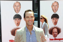 "Actor Chris Diamantopoulos attends the Los Angeles premiere of ""The Three Stooges"" on April 7, 2012 in Hollywood, California."