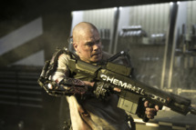 Matt Damon stars in Columbia Pictures' ELYSIUM.