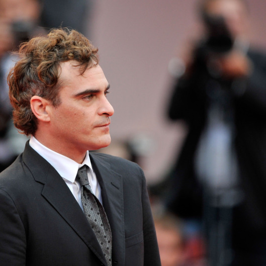 "Actor Joaquin Phoenix attends ""The Master"" Premiere during The 69th Venice Film Festival at the Palazzo del Cinema on September 1, 2012 in Venice, Italy."