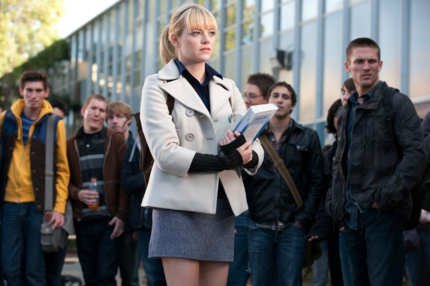 "Emma Stone stars in Columbia Pictures' ""The Amazing Spider-Man,"" also starring Andrew Garfield."