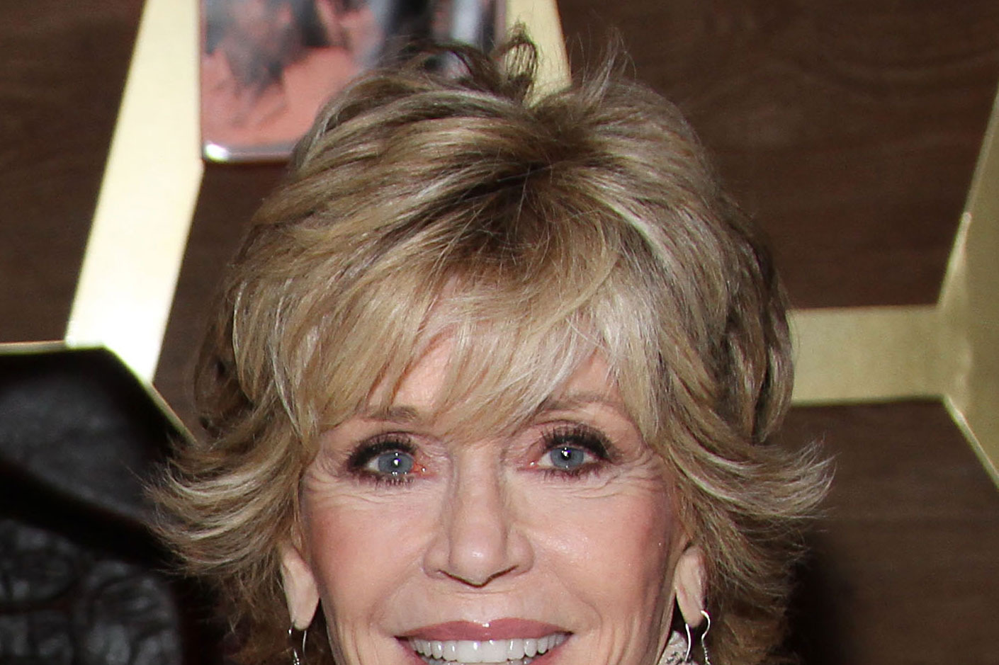 Jane Fonda at A Candid Conversation with Jane Fonda and Andy Cohen on the 40th Anniversary of her Academy Award winning role in Klute to benefit the Georgia Campaign for Adolescent Pregnancy Prevention at Darby Downstairs on October 11, 2012 in New York City.
