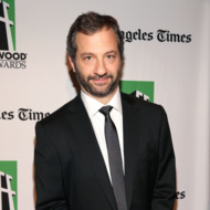 HOLLYWOOD, CA - OCTOBER 22:   Honoree Judd Apatow arrives at the 16th Annual Hollywood Film Awards Gala presented by The Los Angeles Times held at The Beverly Hilton Hotel on October 22, 2012 in Beverly Hills, California.  (Photo by Christopher Polk/Getty Images for HFAG)
