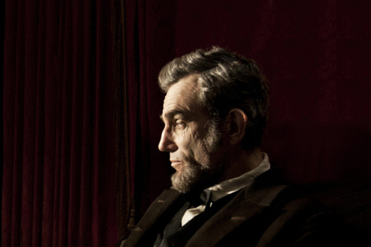 """LINCOLN""  L-001131R  Daniel Day Lewis stars as President Abraham Lincoln in this scene from director Steven Spielberg's ""Lincoln"" from DreamWorks Pictures and Twentieth Century Fox.  Ph: David James, SMPSP  ?DreamWorks II Distribution Co., LLC. ?All Rights Reserved."