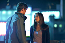 "Beauty and the Beast -- ""Proceed With Caution""  Pictured (L-R): Jay Ryan as Vincent and Kristin Kreuk as Catherine."