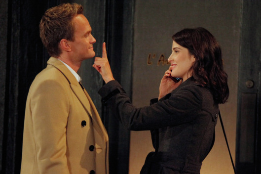 """Splitsville"" -- When Robin (Cobie Smulders) is hesitant to break up with Nick, Barney (Neil Patrick Harris) takes matters into his own hands, on HOW I MET YOUR MOTHER, Monday, Nov. 5 (8:00-8:30 PM, ET/PT) on the CBS Television Network."
