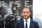 "Actor Tom Hardy attends ""The Dark Knight Rises"" premiere at AMC Lincoln Square Theater on July 16, 2012 in New York City."