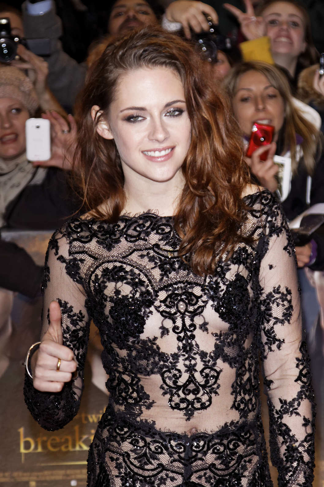 Red carpet arrivals at 'The Twilight Saga: Breaking Dawn 2 - Part 2' European premiere at the Empire Leicester Square.