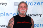 "Paul Teutul Sr. poses for photos at the ""Frozen Planet"" premiere at Alice Tully Hall, Lincoln Center on March 8, 2012 in New York City."