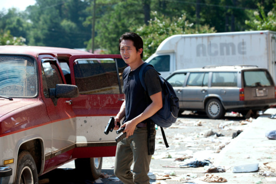 Glenn (Steven Yeun) - The Walking Dead - Season 3, Episo